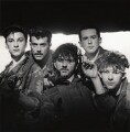 Frankie Goes To Hollywood (Mark O'Toole; Paul Rutherford; Peter Gill; Holly Johnson; Nasher Nash (Brian Nash)), by Eric Watson - NPG x87624