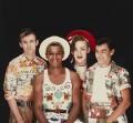 Culture Club (Roy Hay; Mikey Craig; Boy George; Jon Moss), by Eric Watson - NPG x87632