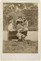 Sir Philip Burne-Jones, 2nd Bt; Jane Alice ('Jenny') Morris; Margaret Mackail (née Burne-Jones); May Morris, by Frederick Hollyer - NPG x19863