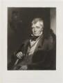 Sir Walter Scott, 1st Bt, by George Henry Phillips, published by  William Tegg, after  Charles Robert Leslie - NPG D20026