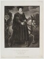 William Cecil, 1st Baron Burghley, published by Edward Evans, after  Silvester Harding - NPG D20134
