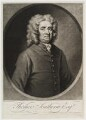 Thomas Southerne, by and published by John Simon, after  James Worsdale - NPG D20138
