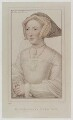 Jane Seymour, by Anthony Cardon, published by  John Chamberlaine, after  Hans Holbein the Younger - NPG D20148