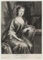 Anne Oldfield, by John Simon, after  Jonathan Richardson - NPG D20164