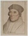 John Fisher, by Francesco Bartolozzi, published by  John Chamberlaine, after  Hans Holbein the Younger - NPG D20275