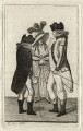 Captain Page; Captain Vicars; with an admirer, by John Kay - NPG D16833