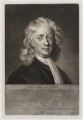 Sir Isaac Newton, by James Macardell, after  Enoch Seeman - NPG D20304