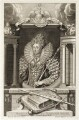 Queen Elizabeth I, by George Vertue, after  Isaac Oliver - NPG D20321