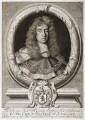 George Jeffreys, 1st Baron Jeffreys of Wem, by Robert White, after  Sir Godfrey Kneller, Bt - NPG D20325