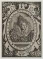 Queen Elizabeth I, by Charles David, after  Isaac Oliver - NPG D20336