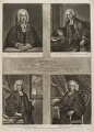 James Hervey; William Romaine; Thomas Jones; Martin Madan, published by Henry Parker, and published by  Thomas Kitchin - NPG D20340