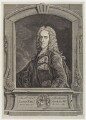 Richard Temple, 1st Viscount Cobham, by George Bickham the Younger, after  Jean Baptiste van Loo - NPG D20440