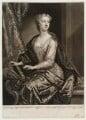 Anastasia Mordaunt (née Robinson), Countess of Peterborough, by John Faber Jr, after  John Vanderbank - NPG D20476