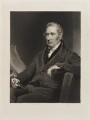 George Stephenson, by Charles Turner, after  Henry Perronet Briggs - NPG D20481