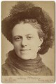 Anna (née Allnutt), Lady Brassey, by Alexander Bassano - NPG x126799