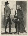 Henry Dundas, 1st Viscount Melville; Robert Dundas of Arniston, by John Kay - NPG D16855