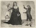 Mrs Woods; Sarah Siddons (née Kemble); Mr Sutherland in Hume's 'Douglas', by John Kay - NPG D16860