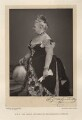 Princess Augusta Caroline, Grand Duchess of Mecklenburg-Strelitz, by Walery, published by  Sampson Low & Co - NPG x9155