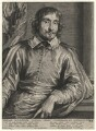 Cesare Alessandro Scaglia, by Paulus Pontius (Paulus Du Pont), after  Sir Anthony van Dyck - NPG D16936