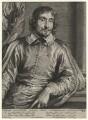 Cesare Alessandro Scaglia, by Paulus Pontius (Paulus Du Pont), after  Sir Anthony van Dyck - NPG D16936