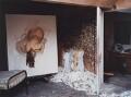 'Lucian Freud's studio with 'Night Portrait, Face Down', by David Dawson - NPG x126309