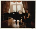 Janet Baker, by Denis Waugh - NPG x32367