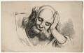 Head study, by Joseph Fussell - NPG D17050