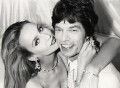 Mick Jagger; Jerry Hall, by Norman Parkinson - NPG x30177