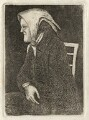 Thomas Neil as 'The Old Wife', by John Kay - NPG D16886