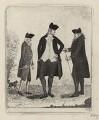 Thomas Hamilton, 7th Earl of Haddington; Sir William Forbes, 6th Bt; Sir James Hunter Blair, 1st Bt, by John Kay - NPG D16893