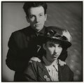 Elvis Costello; Cait O'Riordan, by Chris Garnham - NPG x38106