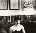 (Helen) Fiona Pitt-Kethley, by Mark Gerson - NPG x47109