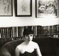 (Helen) Fiona Pitt-Kethley, by Mark Gerson - NPG x47109