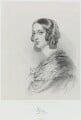 Lady Elizabeth Dorothy Anne Georgiana Grey (née Howard), by Richard James Lane, printed by  M & N Hanhart, after  George Dodgson Tomlinson - NPG D21745
