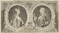 Anne, Princess Royal and Princess of Orange; William Charles Henry Friso, Prince of Orange, after Philip Mercier, and after  Philip van Dyk - NPG D17091