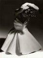 'Fifties style shell-bodice dress' (Unknown woman), by Chris Garnham - NPG x126844