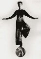 'Rosemary Moore Collection - Girl on a ball' (Unknown woman), by Chris Garnham - NPG x88855