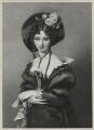 'Le bonnet noir', by Richard James Lane, after  Alfred Edward Chalon - NPG D21832