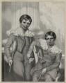 'Young Clacks', by Richard James Lane, after  Richard Augustus Clack - NPG D21848