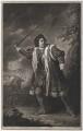 David Garrick as Richard III, by John Dixon - NPG D17075