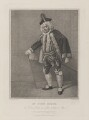 John Quick as Don Lewis in 'Love Makes a Man', by Jean Condé, published by  Thomas Palser, after  Samuel De Wilde - NPG D17078