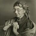 Dame Gwen Lucy Ffrangcon-Davies, by Nicholas Sinclair - NPG x38420