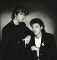 Wham! (George Michael; Andrew Ridgeley), by Brian Aris - NPG x87845
