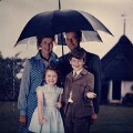 The Ogilvy family, by Norman Parkinson - NPG x29599