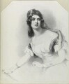 Louisa Cranstoun Nisbett (née Macnamara, later Boothby), by Richard James Lane, published by  Thomas McLean, after  Sir Francis Grant - NPG D21902