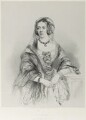 Emma Sophia (née Edgecumbe), Countess Brownlow, by Richard James Lane, printed by  M & N Hanhart, after  James Rannie Swinton - NPG D21994