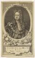 King George I, by George Vertue, after  Sir Godfrey Kneller, Bt - NPG D17810