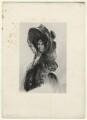 Sarah Garay Copley (née Brunsden), Lady Lyndhurst, by Richard James Lane, after  Simon Jacques Rochard - NPG D22041