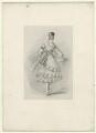 Marie Taglioni, by Richard James Lane, after  Alfred Edward Chalon - NPG D22044