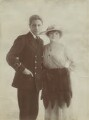Ivor Novello; Clara Novello Davies, by Lallie Charles (née Charlotte Elizabeth Martin) - NPG x17128
